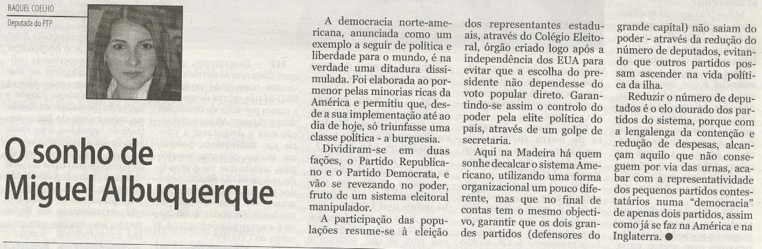 Artigo de opinião_Sonho_albuquerque